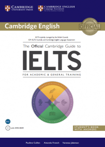 منابع آیلتس در آموزش زبان انگلیسیthe official cambridge guide to IELTS for academic & General training
